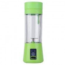 Mini blender portabil SIKS® 2 lame, 380 ml, verde