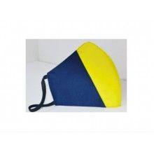 Masca SIKS® de protectie din material textil, anatomica, reutilizabil, tricolor