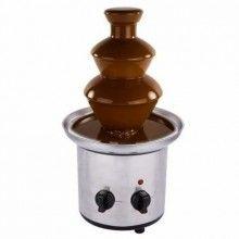 Fantana De Ciocolata , cu cascada din Inox