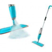 Mop cu pulverizator SIKS® si laveta reutilizabila din microfibra