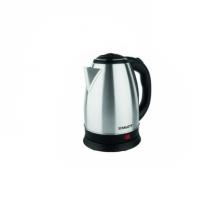 Cana Fierbator SIKS®, Inox, 1500W, 2 L, Declansare automata, Inox/Negru