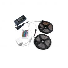 Banda LED SIKS®, lumini multicolore, telecomanda, 10m