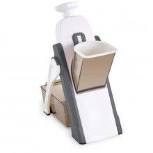 Feliator universal SIKS® 8 setari de grosime, manual, multifunctional, alb/gri