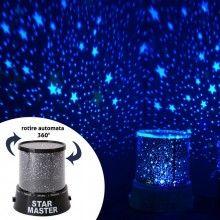 Lampa de veghe SIKS® cu proiectie astronomica, cu baterii