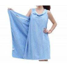 Prosop SIKS® tip rochie pentru femei, cu bretele, marime universala, albastru
