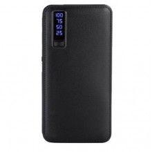 Baterie externa SIKS® 20000 mAh trei porturi usb, incarcare rapida, negru
