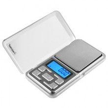 Mini cantar electronic SIKS® de buzunar pentru bijuterii cu afisaj LCD, portabil, capacitate maxima de 200 g