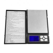 Cantar capacitate SIKS® diviziune 0.01g, model Notebook, negru