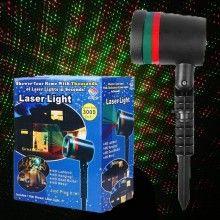 Proiector Laser LED rosu cu verde