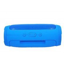 Boxa Bluetooth portabila EDAR®, Charge 2, fara fir, Radio, Li-Ion, albastra