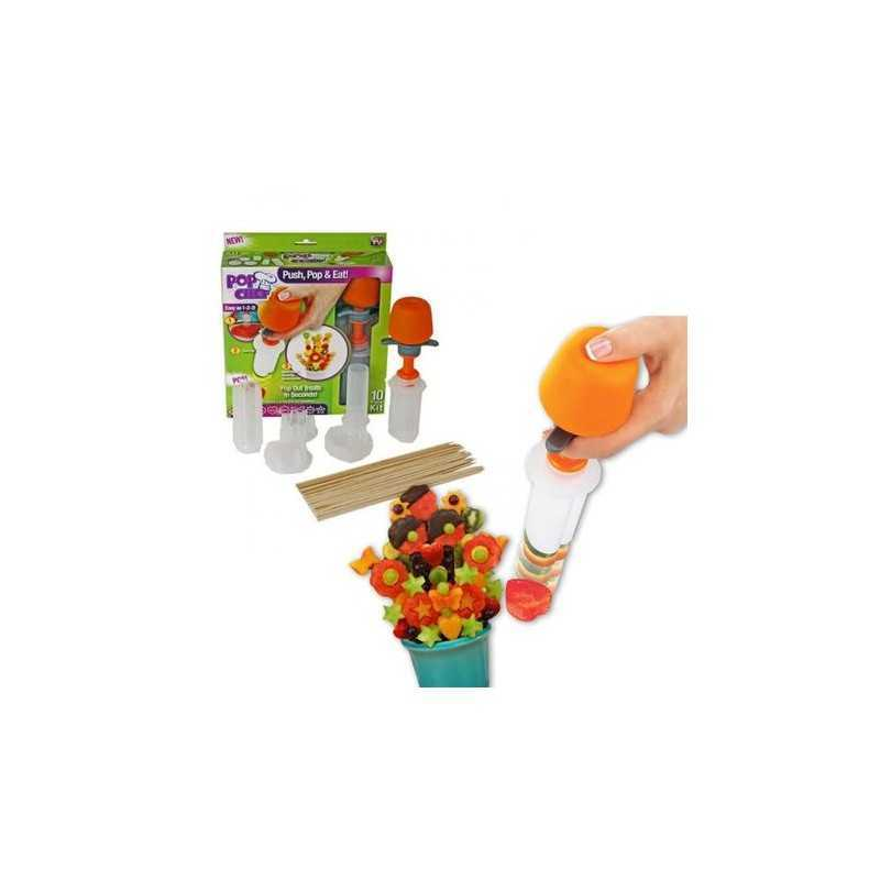 Set pentru decorare Pop Chef, 6 forme