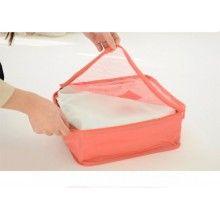 Set SIKS® 6 genti pentru organizarea si depozitarea bagajelor, rosu