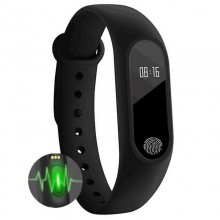 Bratara Fitness SIKS® , functie ritm cardiac, tensiune, calorii, pedometru, vremea, notificari
