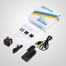 Mini Camera Spion neagra Full HD SQ11 MINI DV cu functie video si foto