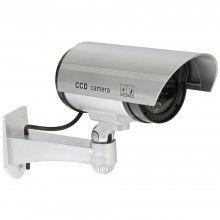 Camera EDAR® de supraveghere falsa, pentru exterior, cu lumina LED rosu indicator