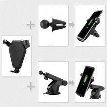 Suport telefon pentru auto cu incarcare wireless