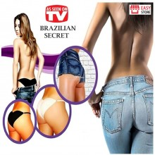 Chiloti brazilieni Secret, Negru, XL
