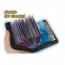 Portofel unisex anti-scanare carduri Lock Wallet