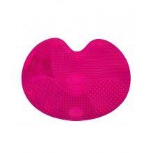 Dispozitiv de silicon pentru curatarea pensulelor de make-up