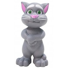 Jucarie vorbitoare inteligent Talking Tom Cat gri