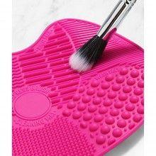 Dispozitiv de silicon EDAR® pentru curatarea rapida a pensulelor de machiaj, cu sistem antialunecare