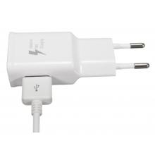 Incarcator alb fast charge cu microUSB