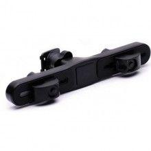 Suport auto universal SIKS® pentru tableta, montare pe tetiera, ideal pentru drumuri lungi, negru