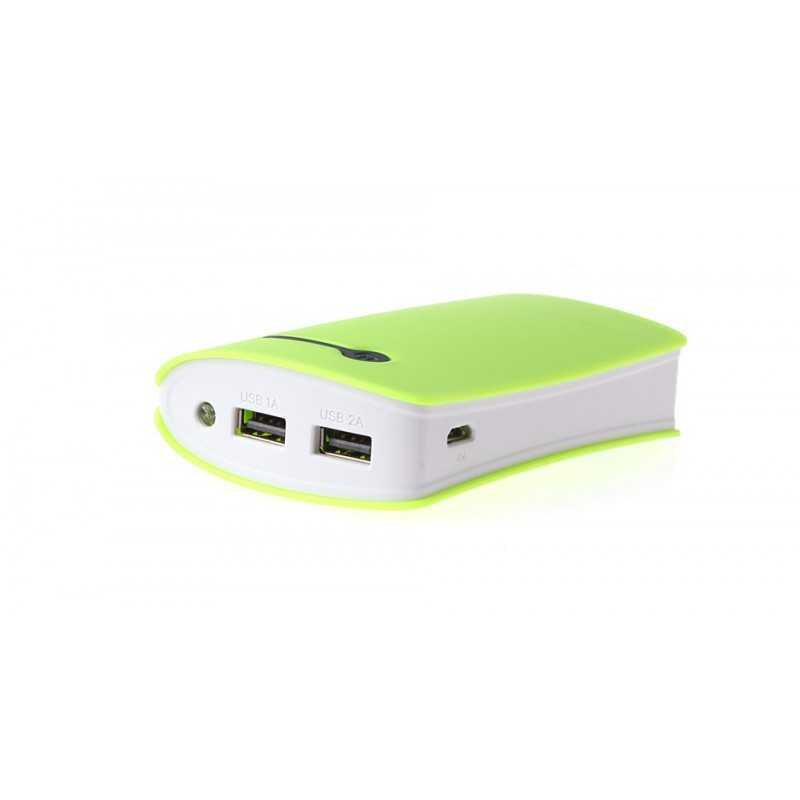 Baterie Externa Power Bank 8400 mAh verde