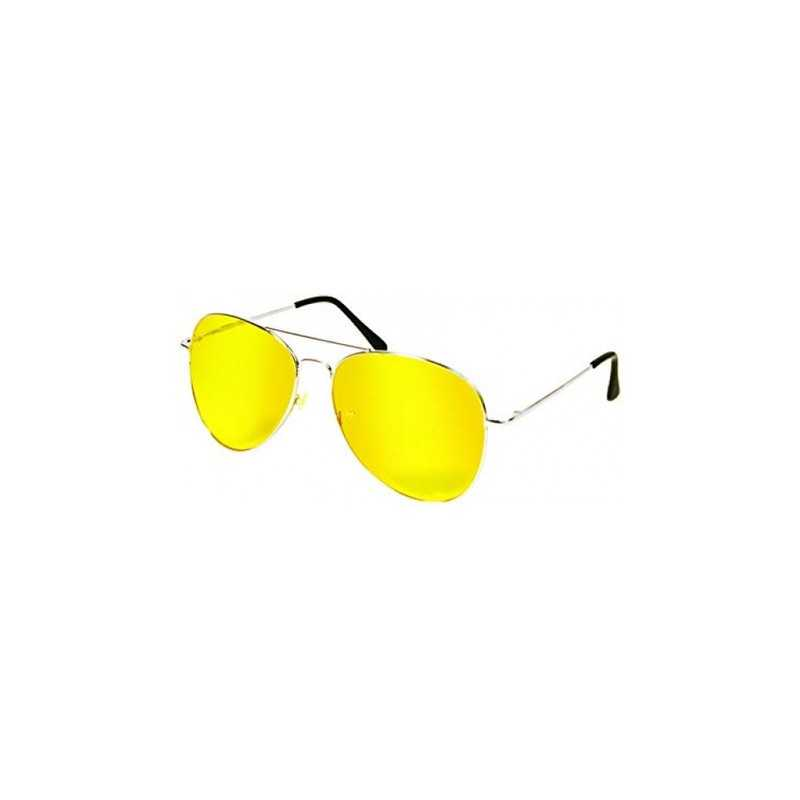 Ochelari pentru condus Night View cu lentile galbene