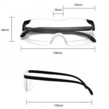 Ochelari protectie cu efect de lupa