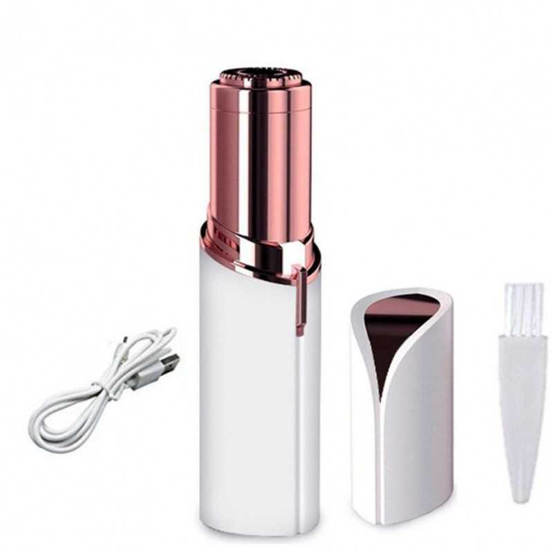 Dispozitiv portabil pentru indepartarea parului facial cu incarcare USB