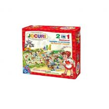 Joc 2in1, Labirintul cu Scufita Rosie si Peripetii cu Pinochio