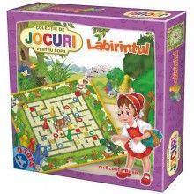 Joc Labirintul cu Scufita Rosie