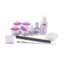 Kit profesional SIKS® cu 13 instrumente pentru unghii cu gel