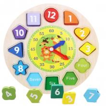 Ceas pentru cei mici cu cifre in engleza