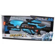 Arma spatiala cu joc de lumini si sunet, +5 ani