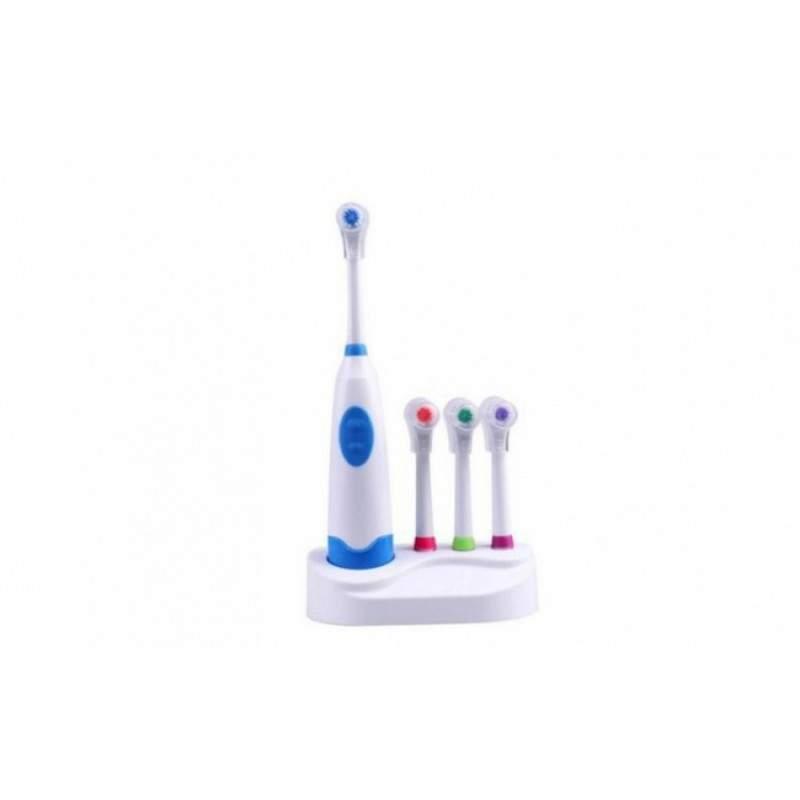 Periuta de dinti electrica SIKS®, cu 4 capete rotative, albire si curatare, cu 6500 rpm