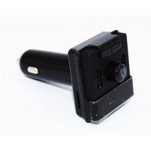 Car kit cu MP3 Player, Bluetooth, dual USB, negru