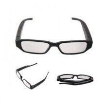 Ochelari SIKS® cu camera spionaj, filmare full HD, 30FPS, slot Micro SD pana la 32GB, 1.5 h autonomie, negri