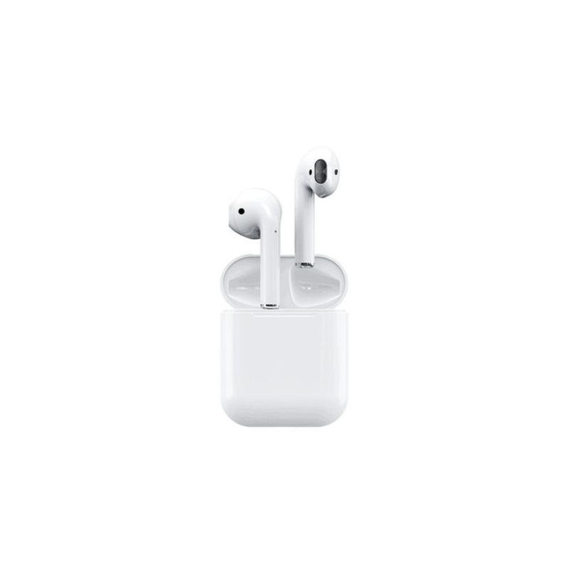 Casti Wireless Bluetooth I12 Airpods Stereo cu touch Android & iOS, Conectare BlueTooth 5.0 + EDR, 3D Surround