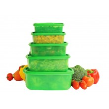 Set cu 5 cutii alimentare