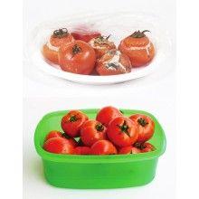 Set EDAR® cu 5 caserole cu capac, ideale pentru orice tip de aliment, verde