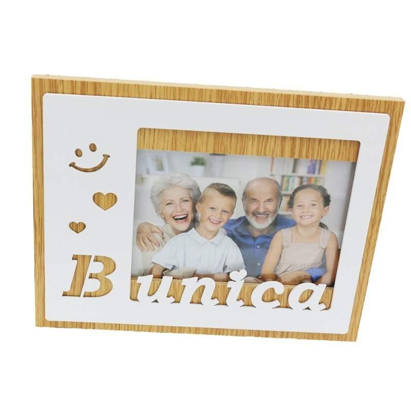 Rama foto cu mesaj Bunica
