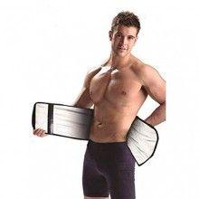 Centura SIKS® de slabit cu efect sauna, unisex, negru, 115 x 22 cm
