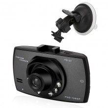 Camera auto DVR SIKS®, Vedere Nocturna , Lentila Wide 170 grade , SOS Senzor Miscare, FHD 1080P