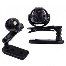 Camera mini SIKS® supraveghere, 360 grade, full hd, functie detectare a miscarii, negru