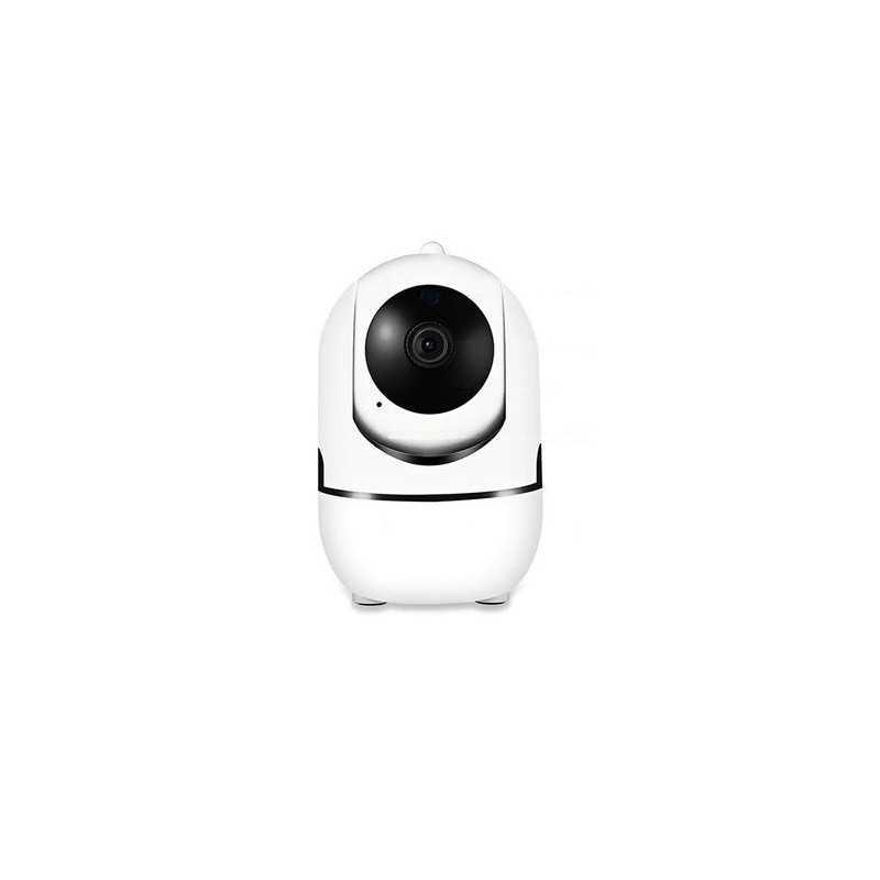 Camera supraveghere SIKS® imagine live, rotire automata prin aplicatie, full hd, alb