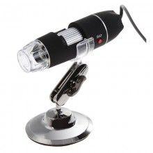 Microscop digital cu buton de fotografiere