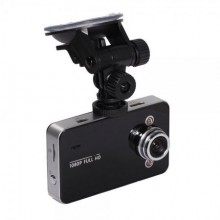 Camera auto SIKS® Full HD 1080P, cu senzor de miscare, 2.4 inch, Vizibilitate 120 °, card micro SD pana la 32 GB, suport de prin