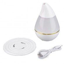 Umidificator cu lumina LED diferite culori ajuta la purificarea aerului alimentare USB alb